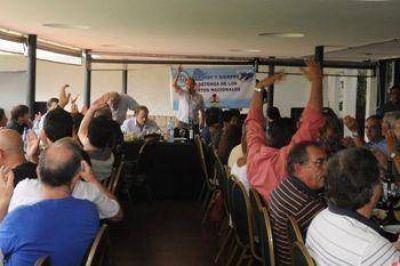 Los ferroportuarios reivindicaron la unidad de los trabajadores del sector