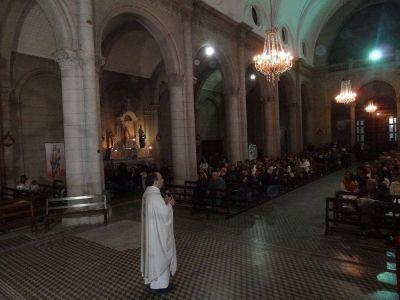 También en Balcarce se celebró la elección de Bergoglio como nuevo Papa