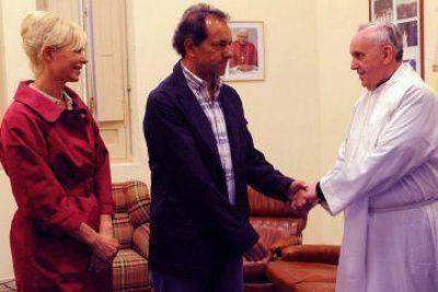"Moltoni: ""Scioli es muy amigo de Bergoglio"""