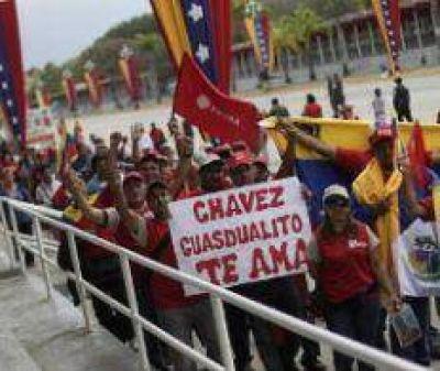 Último día de despedida a Chávez