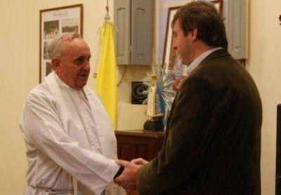 Luciani saludó la elección del argentino Bergoglio como Papa
