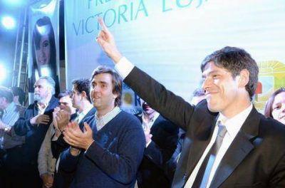 Con la presencia de Abal Medina, Boto lanzó su carrera electoral
