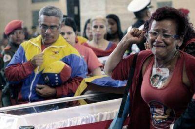 Cerraron la capilla ardiente y preparan el traslado de Hugo Ch�vez