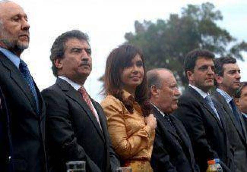 Histórica visita de la presidenta al Delta de San Fernando