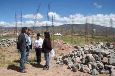 El IPV construye en Payogasta 14 casas para familias de escasos recursos