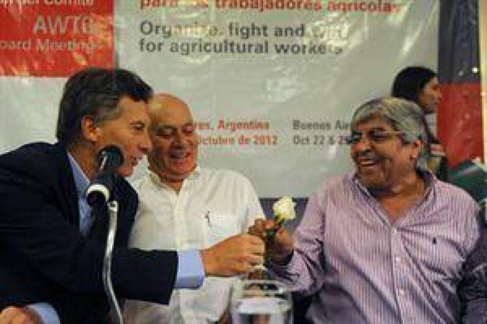 Macri y Moyano avanzan en un acuerdo estratégico