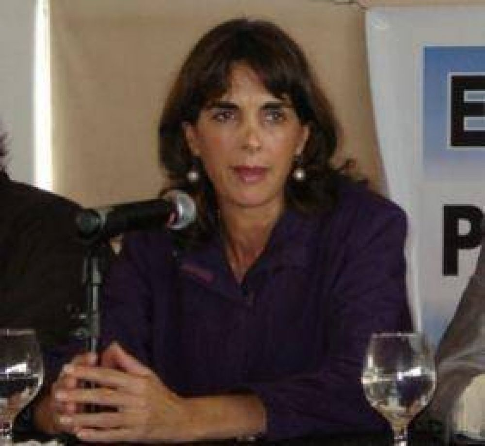 María Eugenia Bielsa con Cristina