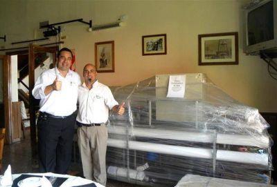 Pdo. de La Costa - La Hostería Santa Teresita una vez más pionera, hoy con el agua potable