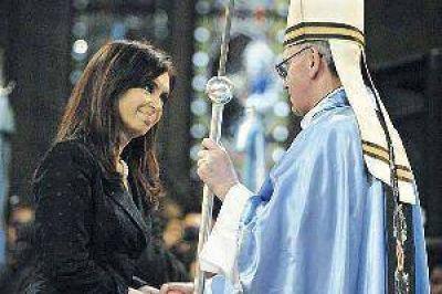 Expectativa en Roma por la audiencia del papa Francisco y la Presidente