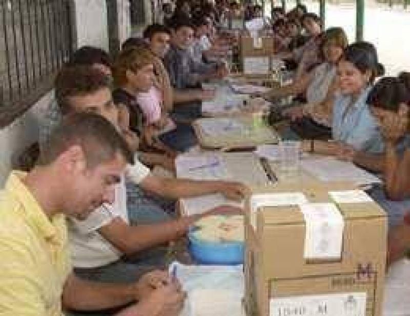 La Nación paga menos de $ 0,50 por votante a los partidos locales