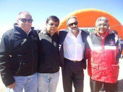 Gobierno y municipio reunidos por peregrinos a Punta Corral
