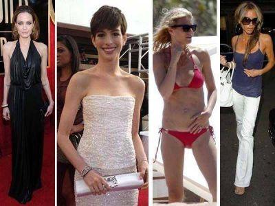 Los famosos y las dietas extremas: el precio de lucir como una celebrity