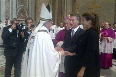 """Macri: """"Hay que estar a la altura del Papa y reconciliarse"""""""