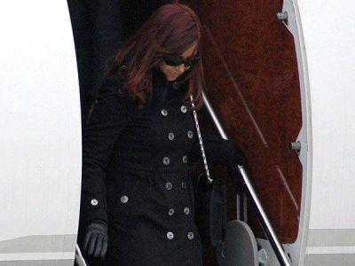 La presidente Cristina Kirchner vuelve al país tras su viaje al Vaticano