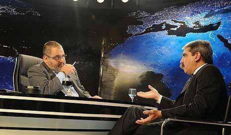 """An�bal F. profetiz�: """"Nosotros somos el peronismo y ganamos en el 2011"""""""