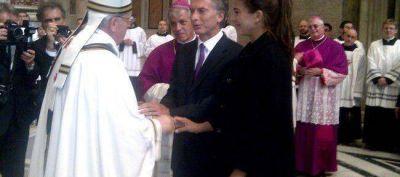 El papa Francisco saludó a Macri y preguntó por Antonia