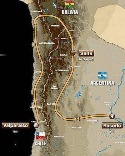 Dakar 2014: la competencia pasará por San Luis