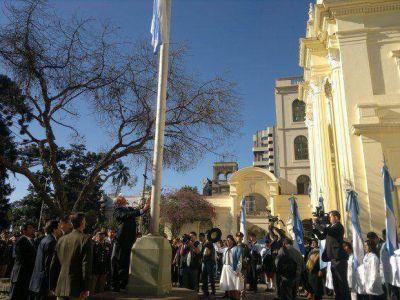 Conmemoraron el bicentenario de la Reconquista de Jujuy