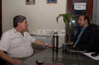 Quintar y Lavatelli acordaron una convocatoria a intendentes