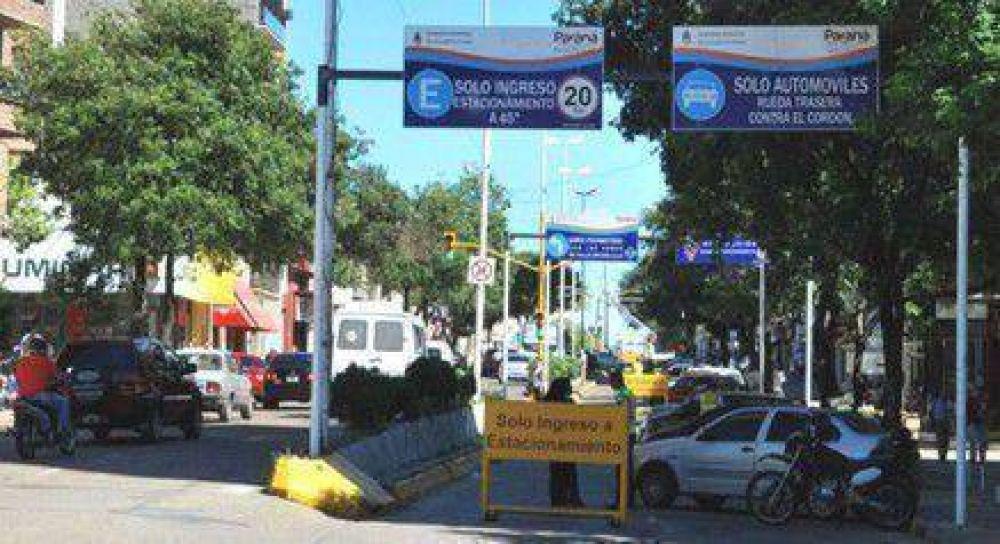 Comerciantes protestarán contra la prohibición de estacionar en el microcentro