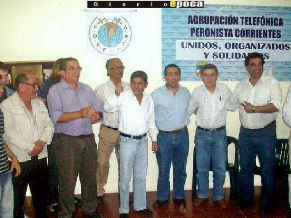 Dirigentes sindicales y barriales del PJ apoyaron candidatura de Ramírez