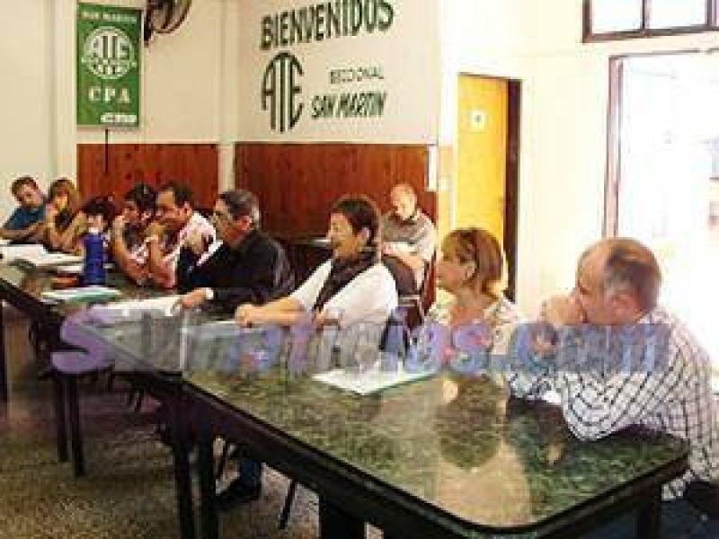 ATE San Mart�n aprob� Memoria y Balance del 2012