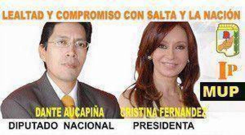 La lista Identidad Peronista presentó como candidato a Diputado Nacional al Periodista Dante Aucapiña.