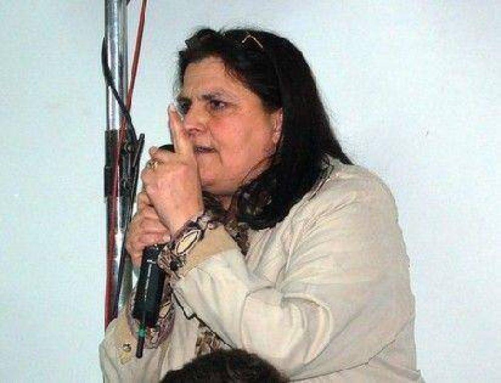 Marita Colombo, la senadora catamarqueña que más habló