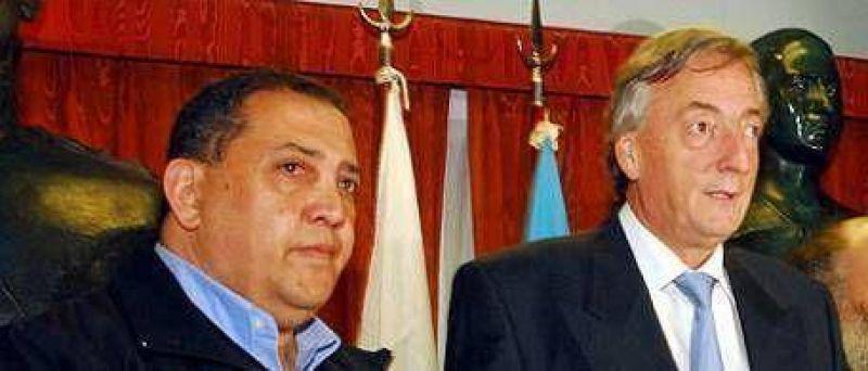 """D'Elía organiza un acto """"masivo y popular"""" para Kirchner"""