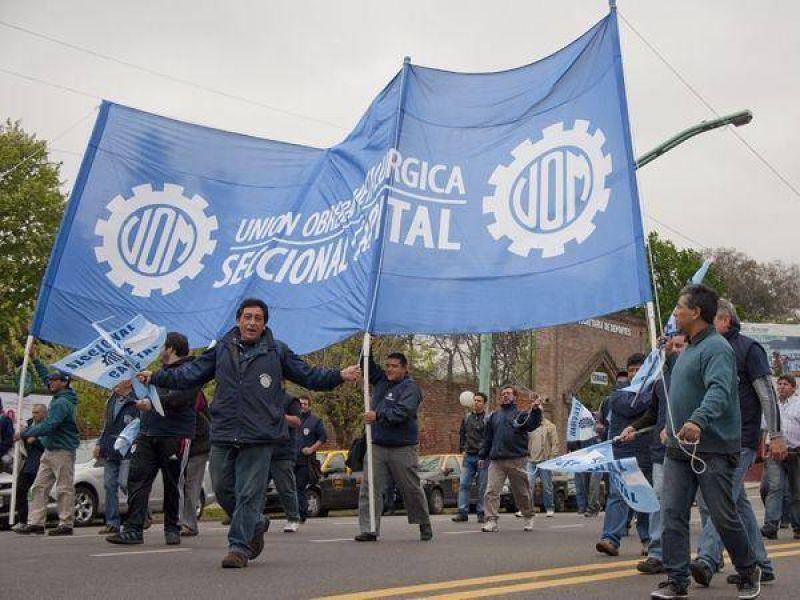 La UOM define hoy el pedido de aumento salarial que reclamará en la paritaria