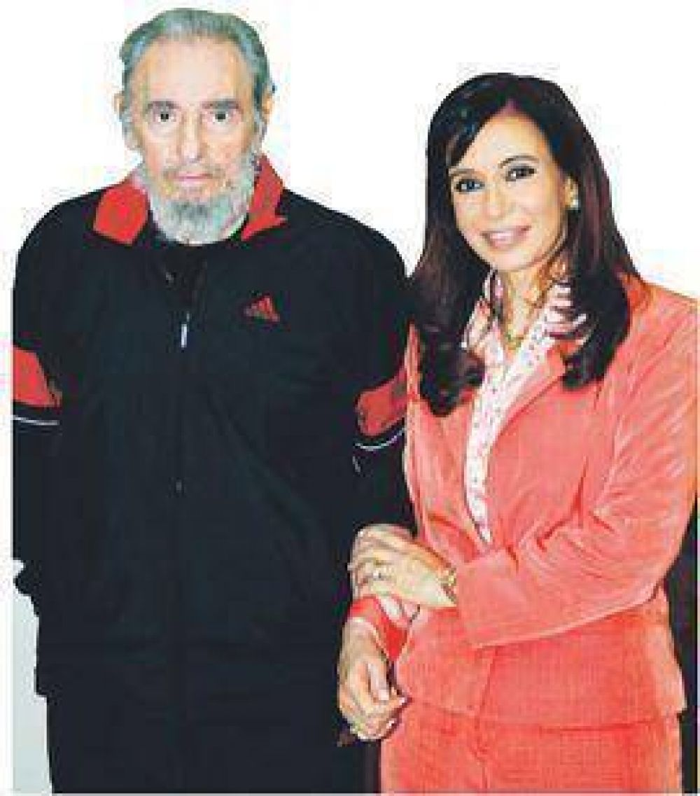 Cuba quiere que Cristina frene al chavismo y lo cuide a Obama