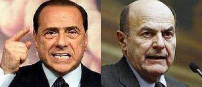 Italia: Berlusconi presiona a Bersani para integrar el nuevo gobierno