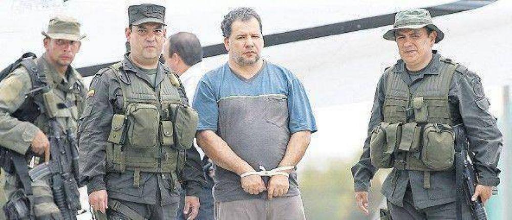 Capturan al principal narco colombiano