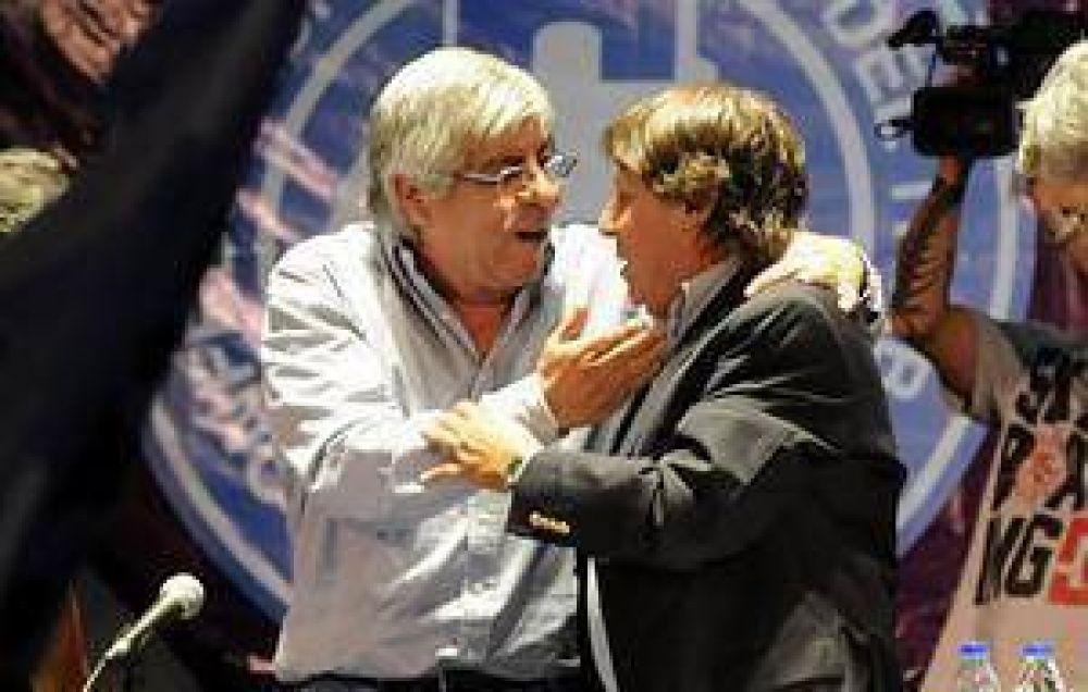 Moyano y Micheli suman adhesiones para activar un nuevo paro nacional