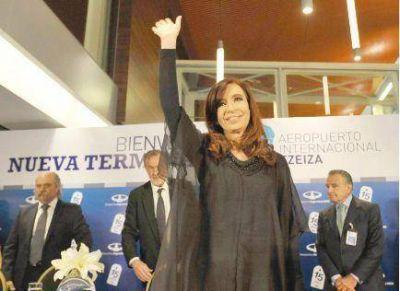 """Cristina abog� por """"el crecimiento con inclusi�n social"""""""