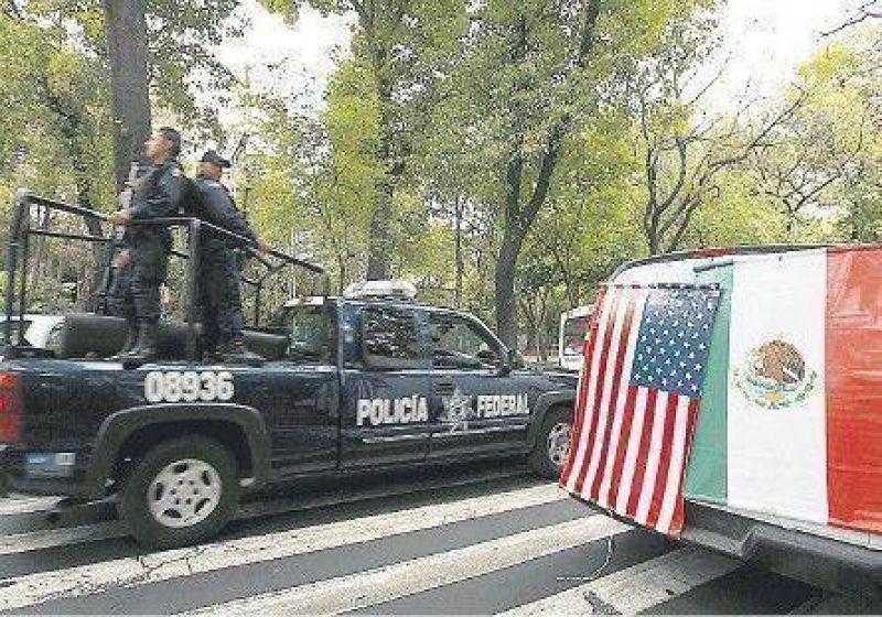 El narcotr�fico, eje de la visita de Obama a M�xico