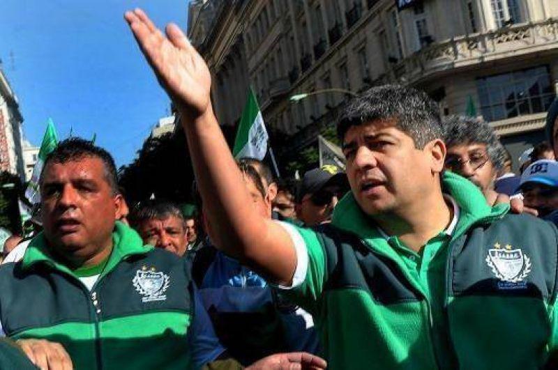 """Pablo Moyano advirti� que los bloqueos a supermercados seguir� """"por tiempo indefinido"""""""