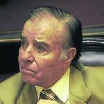 Menem apeló su condena por las armas ante la Corte