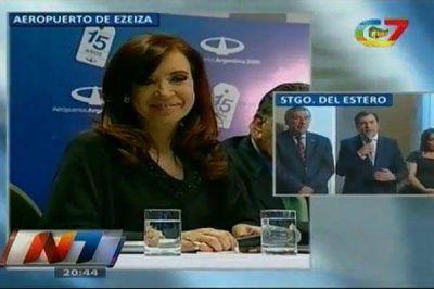 Cristina inauguró viviendas en Frías y Zamora agradeció su mirada federal