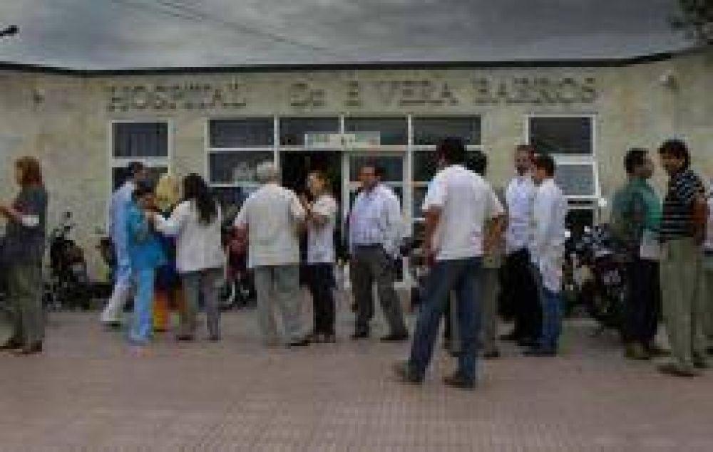 Médicos estatales se movilizan durante la jornada del jueves 11
