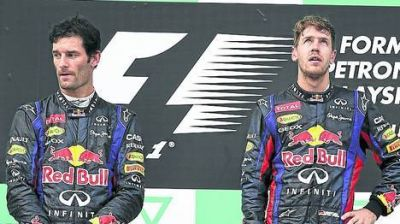 Para Vettel, llegó la hora de agachar la cabeza