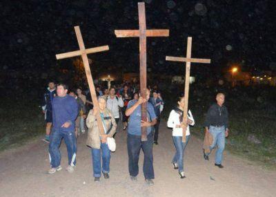 Numerosos fieles en el Vía Crucis interprovincial