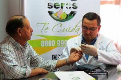 """Se inició en Telsen la edición 2013 del programa """"SEROS te cuida y va a tu trabajo"""""""