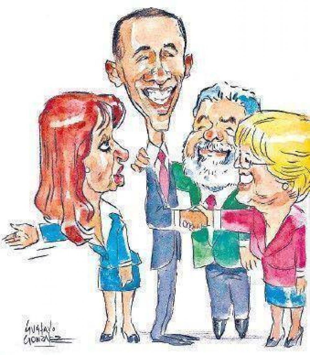 Cristina Kirchner, molesta por no lograr una cita con Obama