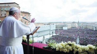 Francisco hizo un enérgico llamado a la paz en el mundo