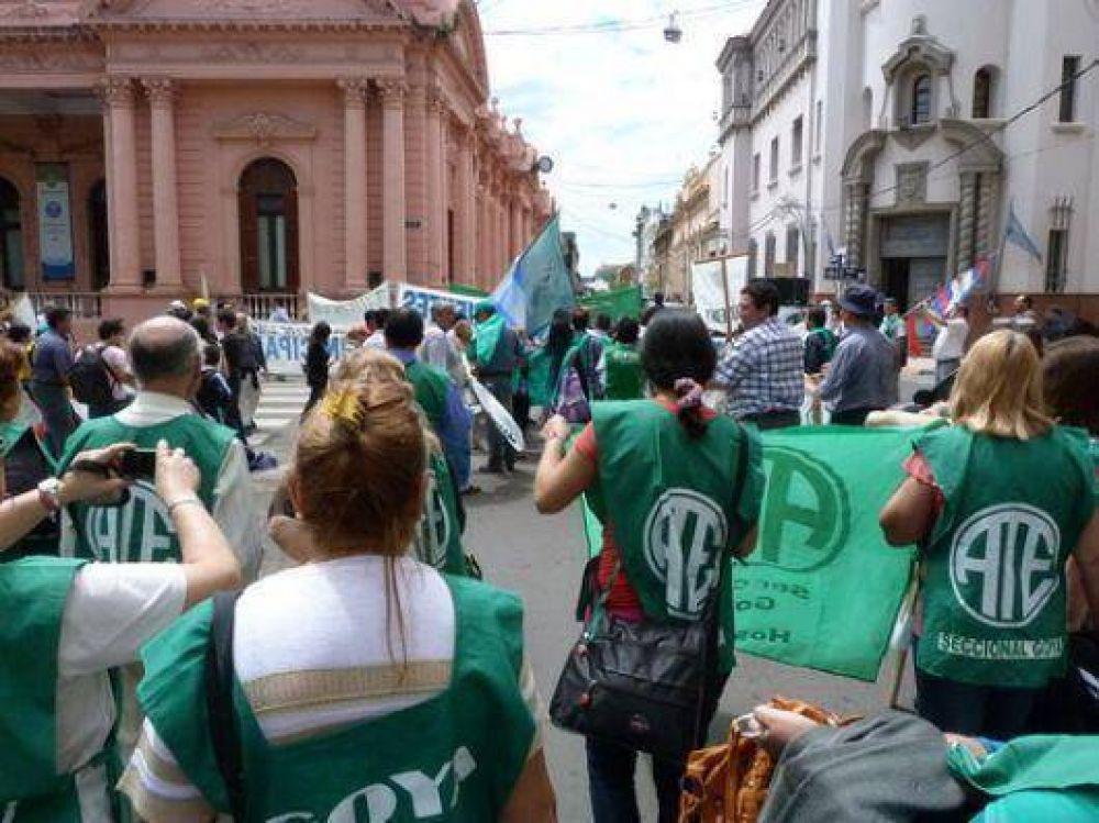 Estatales alistan marcha por condiciones edilicias