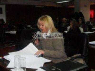 """Silvina Acevedo:""""No estoy de acuerdo que se haga desde un área de gobierno"""""""