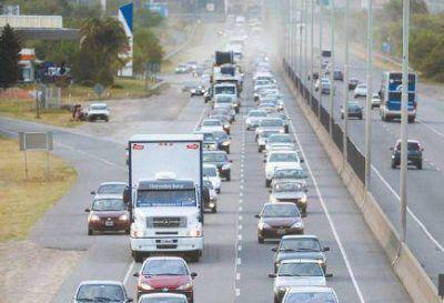 Tras el récord turístico, el mal clima apuró el regreso de un millón de autos
