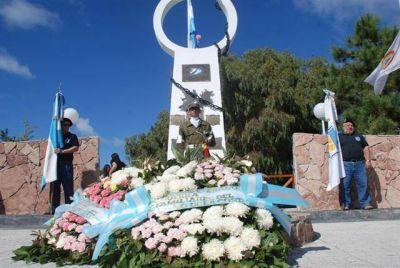 Las Toninas - 2 de abril - Acto por el Día del Veterano y los Caídos en la Guerra de Malvinas