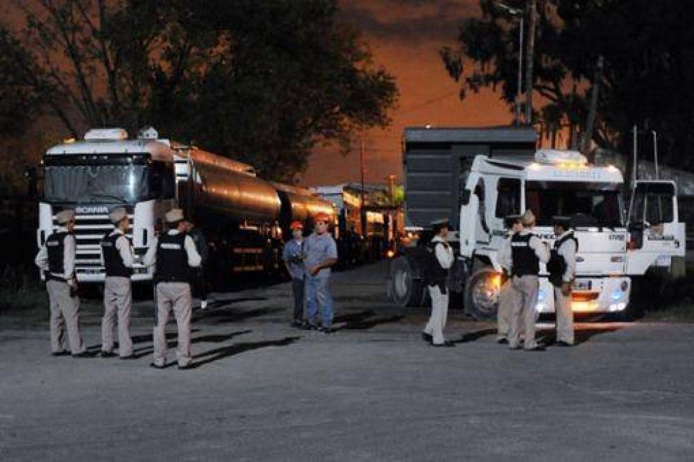 Trabajo destrabó el bloqueo que mantenía Camioneros en Dock Sud